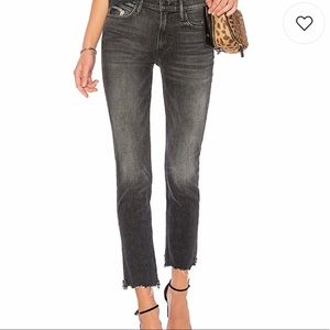 Mother Denim Ankle Crop Flirt Chew